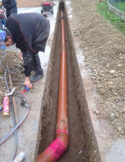 impianto pompaggio acque nere costrua 5